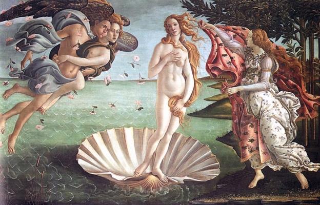 Birth of Venus.
